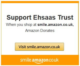 Shop at Smile Amazon and Ehsaas Gets a Donation!