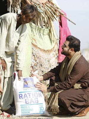 Ehsaas Winter Pack Distribution